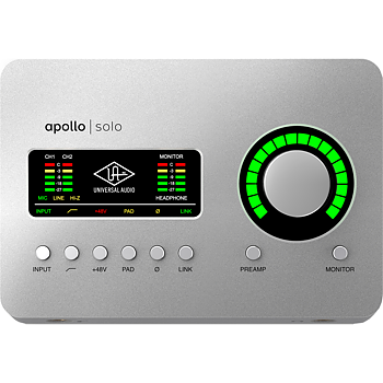 Universal Audio Apollo Solo Thunderbolt 3