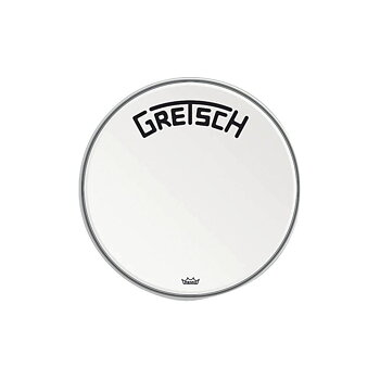 Gretsch Bassdrum head Ambassador white coated 18""