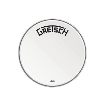 Gretsch Bassdrum head Ambassador white coated 20""