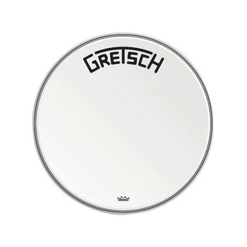 Gretsch Bassdrum head Ambassador white coated 22""