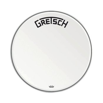Gretsch Bassdrum head Ambassador white coated 24""