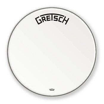 "Gretsch Bassdrum head Ambassador white coated 26"""