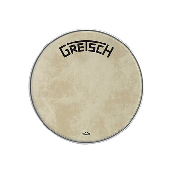 "Gretsch Bassdrum head Fiberskyn 20"""