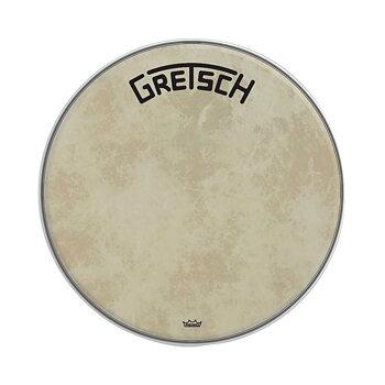 "Gretsch Bassdrum head Fiberskyn 24"""