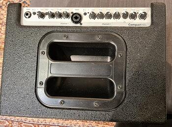 AER Compact 60/3 Förstärkare för akustisk gitarr (Begagnad)