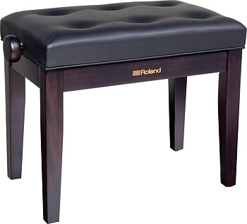 Roland RPB-300RW PIANO BENCH, ROSEWOOD, VINYL SEAT