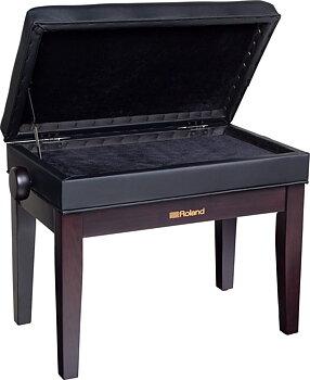 Roland RPB-400RW PIANO BENCH,ROSEWOOD, VINYL SEAT