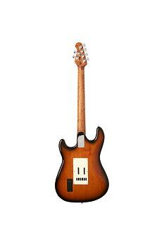 Music Man Cutlass HSS, Vintage Tobacco Sunburst, El-gitarr
