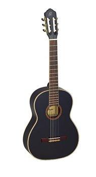 ORTEGA R221BK Klassisk gitarr 4/4 Size, Gloss Black