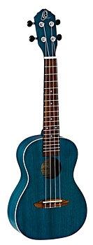 ORTEGA RUOCEAN Concert ukulele Earth, See Thru Blue