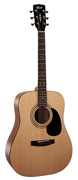 Cort AD810 - OPEN PORE Dreadnought Acoustic Guitars
