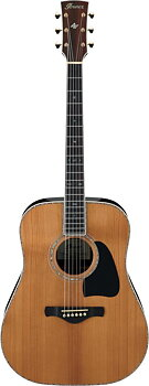 IBANEZ AVD80-NT Western gitarr med etui, Thermo Aged