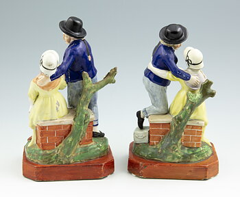 "Figurines - ""Departure"" and ""Return"""