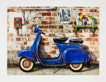 The old vespa