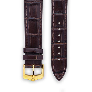 Leather Strap - Dark brown