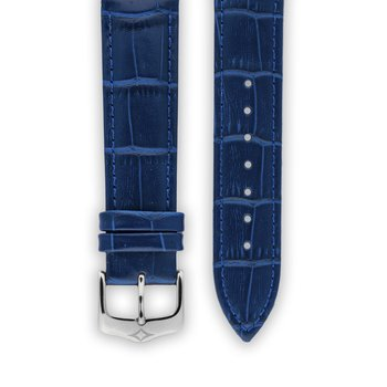 Leather strap - Blue
