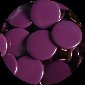 Täckt aubergine