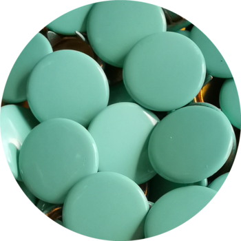 Caps dark mint