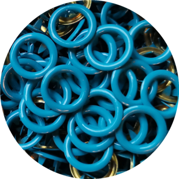 Ring dark turquoise