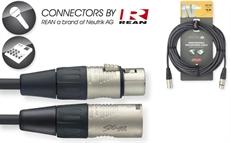 10M/33F MIKE CBL XLRf-XLRm DLX