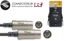 1M/3Ft Midi Cable Dinm Dlx