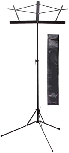 2 Sections Music Stand-Black