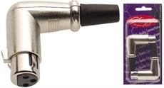 2 X Female Xlr Hook Plug(3P)