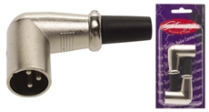 2 X Male Xlr Hook Plug(3Pins)