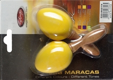 2Pc Egg Maracas S/1 5/8Oz/Yw
