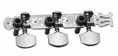 3+3 Western Mach.Heads Chrome