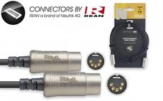 3M/10Ft Midi Cable Dinm Dlx