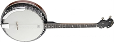 4-Str Banjo-30 Hooks-Metal Pot