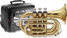 Bb Pocket Trumpet+S/C, Lacquer