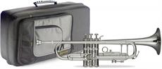 Bb Pro Trumpet Silv.+Soft Case