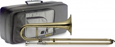 Bb Slide Trumpet+Soft Case