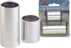 Chromed Steel Slide Set-Medium