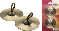 Finger Cymbals Bronze 1Pr Sm.