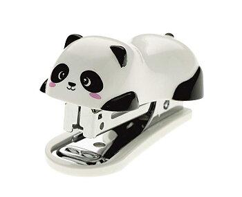 häftapparat mini, panda
