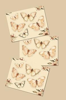 Paper friends, fjäril