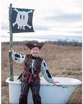 Pirat dräkt 5-6år