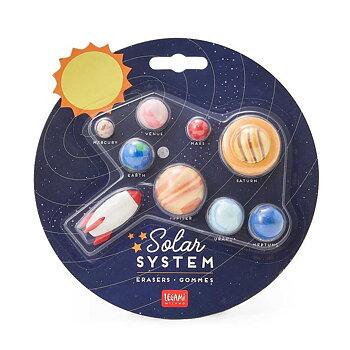 Suddgummi, solsystem 9st