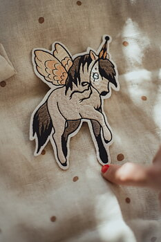 1 PATCH – FLYING PONY