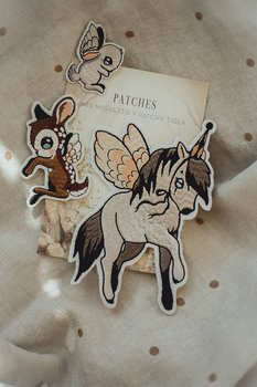 3-PACK PATCHES – FLYING PONY, DEAR KID & BUNNY