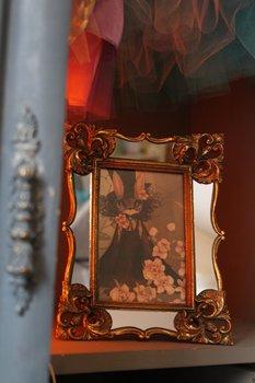 Ram med spegel