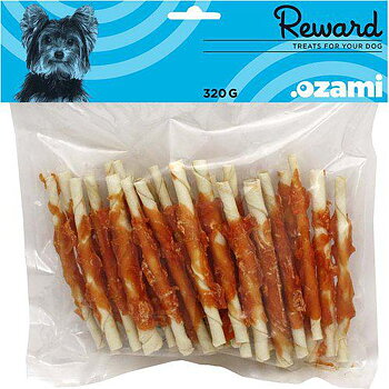 CHEWING STICK WITH CHICKEN 12.5CM 320GR