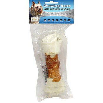 CHEWING BONE WITH CHICKEN 17.5CM 120GR