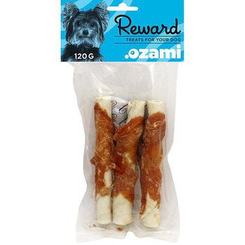 CHEWING STICK WITH CHICKEN 15CM 120GR