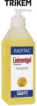 RADITAL LINIMENT GEL 600ml