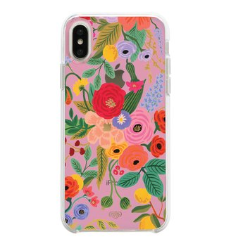 Mobilskal Clear Blush Garden Party iPhone X/XS