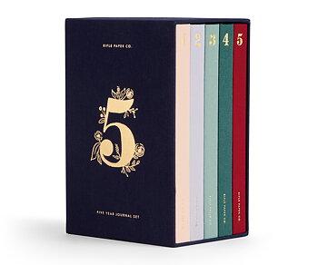 Dagböcker - 5 år